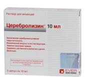 Церебролизин инструкция по применению, форма выпуска, побочные.