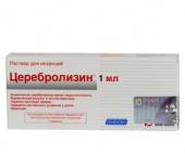Церебролизин: инструкция по применению, цена, отзывы, аналоги в.