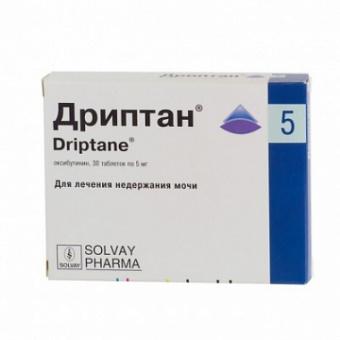 Дриптан 5 мг n30 табл купить в москве: цена и отзывы, инструкция.
